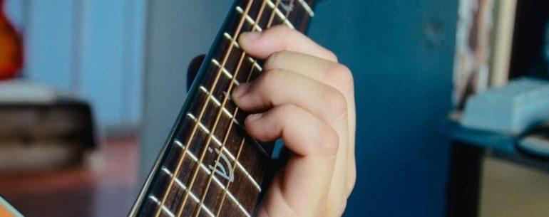 Formação de acordes violão
