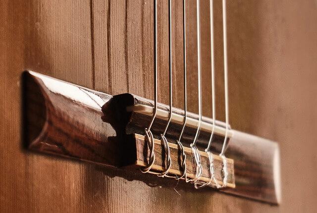 cavalete do violão